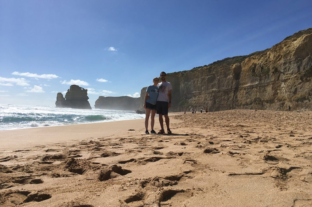 Scott and Hayley at Gibson Steps In Australia