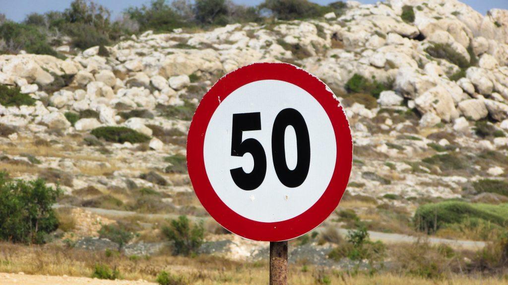 Speed Limit Sign | International Hotdish