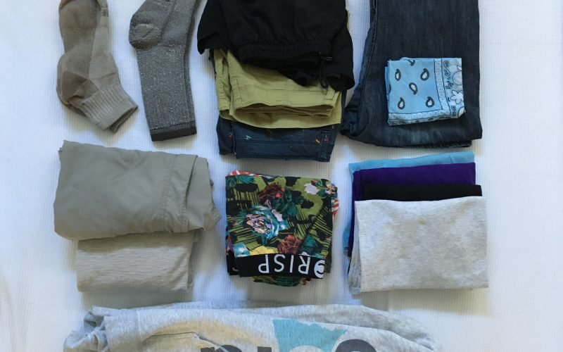 Traveling with a Capsule Wardrobe