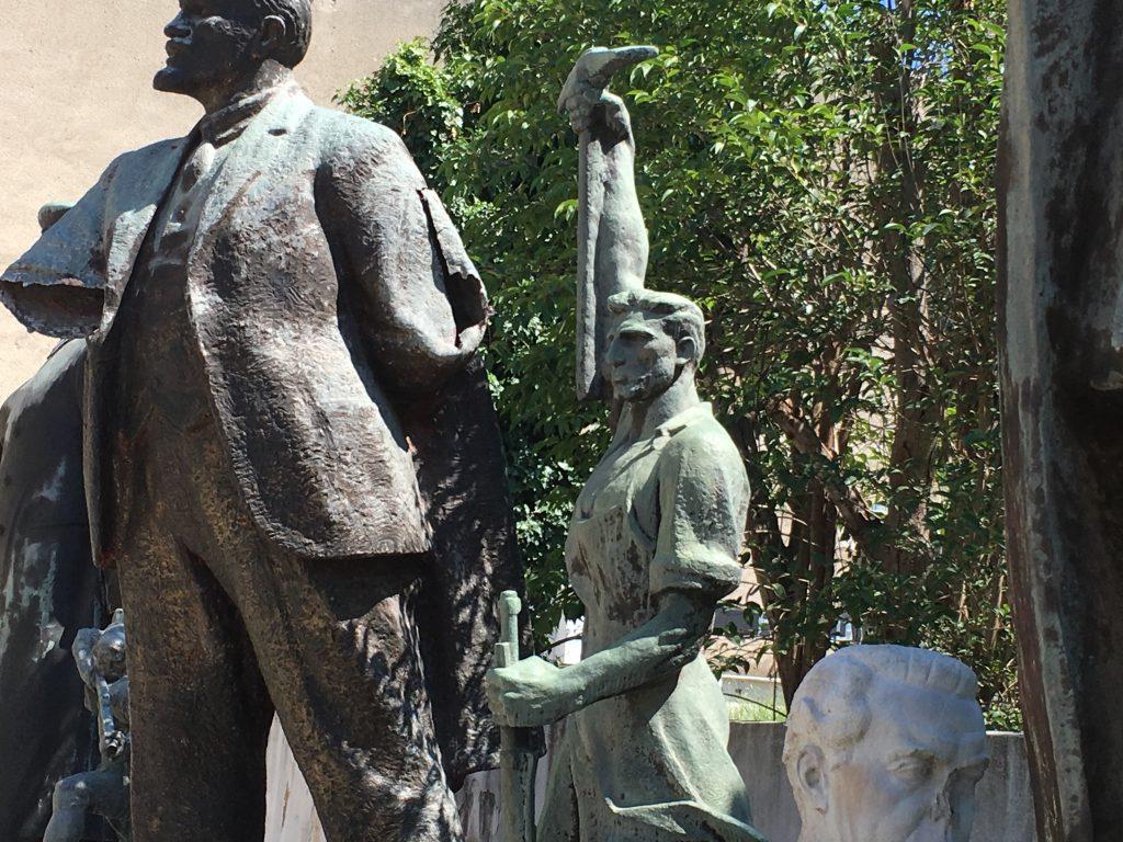 interesting things to do in tirana - socialist statues 2 - International Hotdish