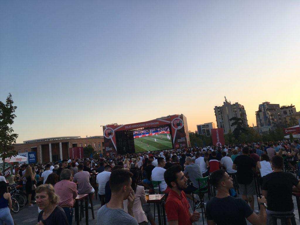interesting things to do in tirana - world cup - International Hotdish