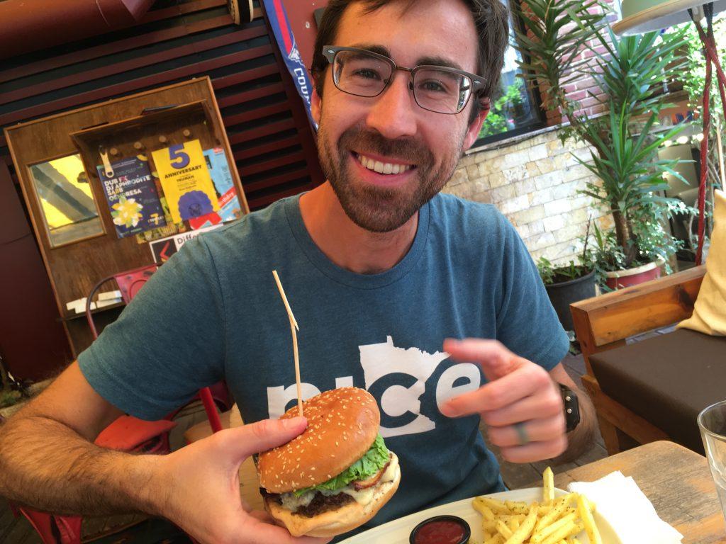 interesting things to do in tirana - burger and fries - International Hotdish