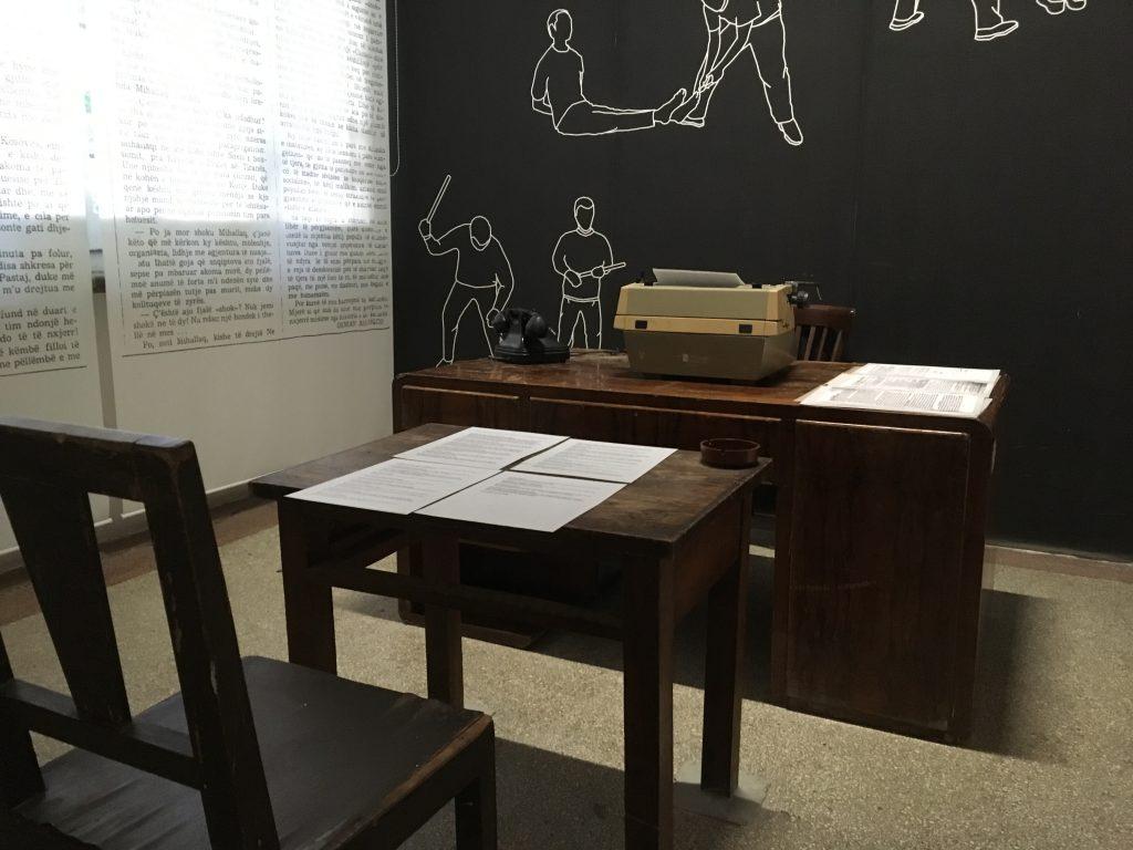 interesting things to do in tirana - interrogation room - International Hotdish