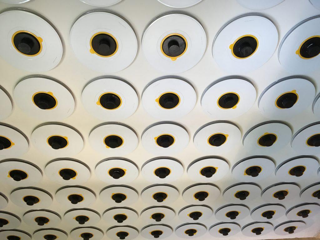 interesting things to do in tirana - reel-to-reel wall art - International Hotdish