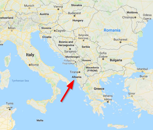 interesting things to do in tirana - map of the balkans -International Hotdish